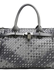KAILIGULA Retro fashion handbags handbags woven platinum