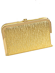 Women-Casual / Event/Party-Metal-Clutch-Gold / Silver / Black