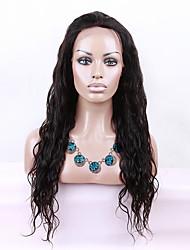 evawigs instock cor onda peruca de cabelo peruca 1b peruca dianteira glueless rendas 8-26 polegadas peruano virgem para as mulheres da