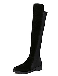 Women's Boots Winter Fashion Boots PU Casual Low Heel Others Black Others