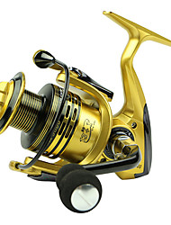 Spinning Reels 5.5/1 13 Ball Bearings Exchangable Bait Casting / General Fishing-XF5000 Yumoshi