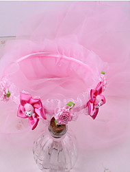 Girls Hair Accessories,All Seasons Chiffon Pink