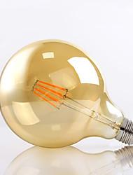 G125 8w e27 650lm 2700k 360 graus levou filamento de lâmpada G40 Edison do vintage de vidro (220-240V)