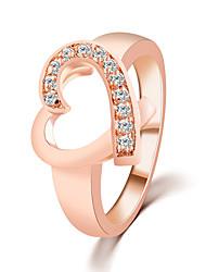 Anelli Per donna Cristallo Lega Lega 6 / 7 / 8 / 9 Oro I colori delle decorazioni sono come da immagine