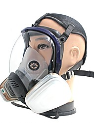 The gas mask mask large spherical silica gel spray chemical anti fire formaldehyde gas mask