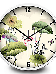 Lotus Garden Home Furnishing Decorative Wall Clock