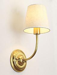 e14 lâmpada de parede de metal industrial única cabeça de personalidade para o / foyer luz de parede decorar o quarto / sala de estudo