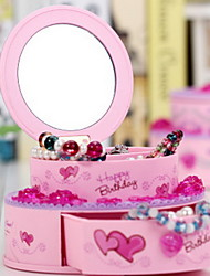 Creative Birthday Cake Shape Music Box