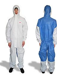 3m weißen Hut atmungs siamesischen Schutzkleidung Schutzpartikel und Flüssigkeit spritzen.