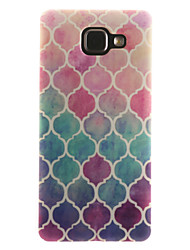 For Samsung Galaxy Case IMD / Pattern Case Back Cover Case Geometric Pattern Soft TPU Samsung A7(2016) / A5(2016) / A3(2016) / A5 / A3
