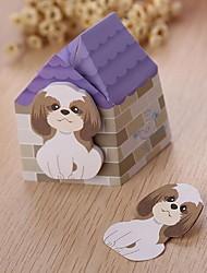 Cute Cartoon Tearable Puppy Sticky (Random Colors)