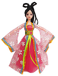 Costume Princess Dolls Clothes Costume Dress To Wear Skirts Joint Body Dolls (Without Baby)