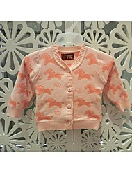 Baby Casual/Daily Animal Print Clothing Set-Cotton-Winter / Fall-Blue / Orange / White / Yellow / Beige