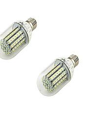 6W E26/E27 Ampoules Globe LED T 90 SMD 3528 500 lm Blanc Chaud Décorative AC 100-240 / AC 110-130 V 2 pièces