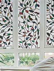 Стикер на окна-Деревья / листья-Современный