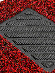 anel de seda tapete gramado mosaico cercado por tapetes de carro