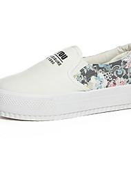 Scarpe Donna - Sneakers alla moda - Tempo libero / Casual - Comoda / Chiusa - Plateau - Tessuto - Nero / Blu / Bianco / Grigio