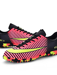 Men's Shoes Synthetic Athletic Shoes Soccer Split Joint / Lacing Green / Pink / Purple / Gray