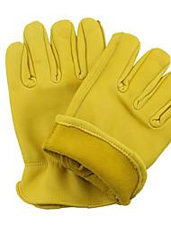 желтый овчины вождения перчатки защитные водителя износа архитектуры обработки перчатки