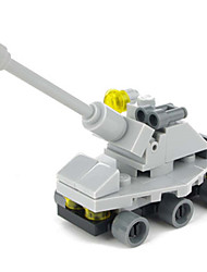Enlightenment toy building blocks tank