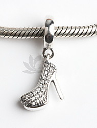 DIY Jewelry Shoe Style Alloy Pendant