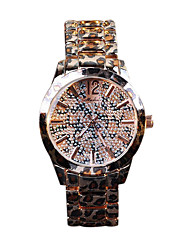 Women's Luxury Fashion Leopard Crystal Band Quartz Watch
