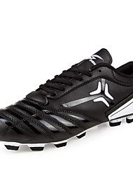 Men's Shoes Synthetic Athletic Shoes Soccer Lacing Black and White