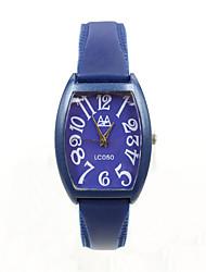 rectángulo sencillo puntero digital de relojes minimalistas