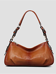 Women PVC Formal Tote Brown