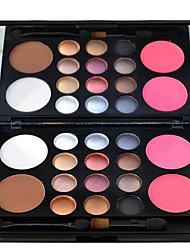 16 Palette de Fard à Paupières Sec Fard à paupières palette Poudre Grand Maquillage Quotidien