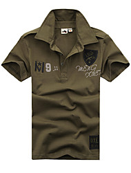 Outros Mulheres Macio Esportes Relaxantes Blusas Verde Militar