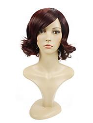 peluca sintética 99j pelo de la onda natural de la venta caliente