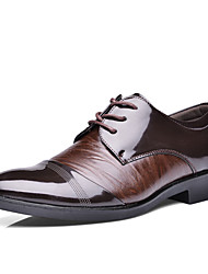 Men's Shoes Other Animal Skin / Cowhide Wedding / Office & Career / Party & Evening / Casual Oxfords / Clogs