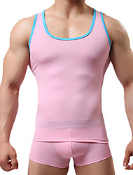 Men's Sleeveless Tank Tops,Cotton Sport Solid