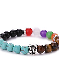New Arrival Natural Colorful Tourmaline Beads Bracelet  #YMGS1020