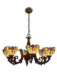 Lustre ,  Tiffany Autres Fonctionnalité for LED Designers Métal Salle de séjour Chambre à coucher Salle à manger Cuisine