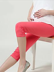 Pantaloni Maternità Semplice Skinny Modal Elasticizzato