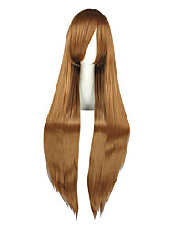 Cosplay Wigs Fate/Zero Sandra Dortlake Brown Long Anime Cosplay Wigs 100 CM Heat Resistant Fiber Male / Female