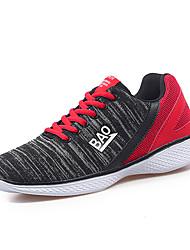 Черный / Синий-Мужская обувь-Для офиса / На каждый день / Для занятий спортом-Тюль-Кеды