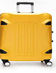 Unisex-Outdoor-PVC-Luggage-Green / Yellow / Black