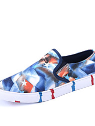 Men's Spring / Fall Comfort Fabric Casual Flat Heel Others Blue / Yellow / Red Walking