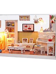 1PC Diy House Dustproof Ribbon Lamp Princess Creative Gifts A  Present Educational Toys Lights Led Lamp