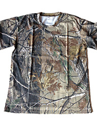 Camouflage Shirt Cloth Outdoor Hunting Fishing Camo T shirt