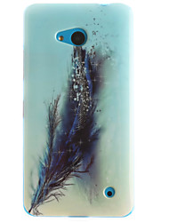Feathers Painting Pattern TPU Soft Case for Microsoft Nokia Lumia 640/530/630