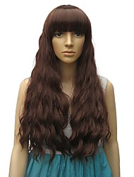 Long Wavy Curly Wigs High Quality Synthetic Hair Wigs For American and Eurpean