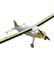 Dynam Beaver DHC2 1:8 Brushless Electric 50KM/H RC Airplane 5ch 2.4G EPO White RTF
