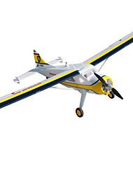 Dynam Beaver DHC2 1:8 Moteur Sans Balais 50KM/H Quadrirotor RC 5canaux 2.4G EPO White Assemblement requis