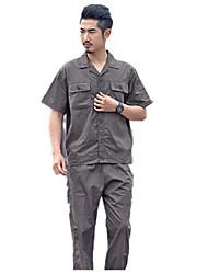 электросварщики тонкий срез с длинными рукавами, защитные комбинезоны одежда хлопка лета вторичный рынок