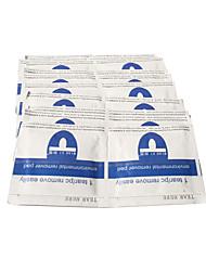 nuevo esmalte de uñas removedor de sábanas de algodón / resurrección paquete triple