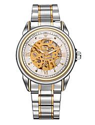 Masculino / Unissex Relógio Esportivo / Relógio Elegante / Relógio Esqueleto / Relógio de Moda / relógio mecânicoAutomático - da corda